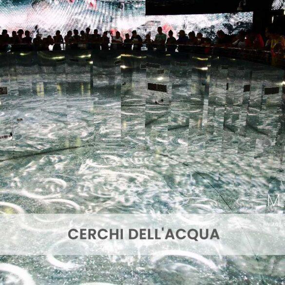Cerchi dell'acqua foto e pensiero di Emanuela Gizzi
