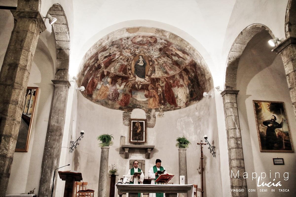 Santuario Madonna del Sorbo Interno PhotoCredit Emanuela Gizzi Mapping Lucia
