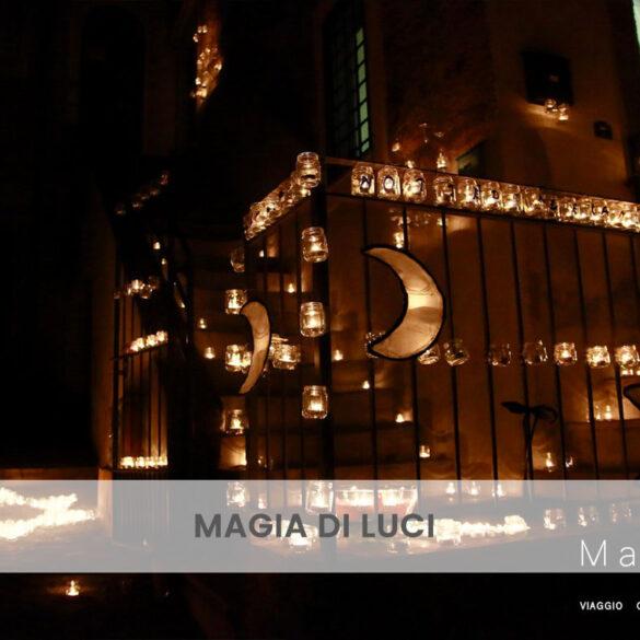 Magia di luci PhotoCredit Emanuela Gizzi Mapping Lucia