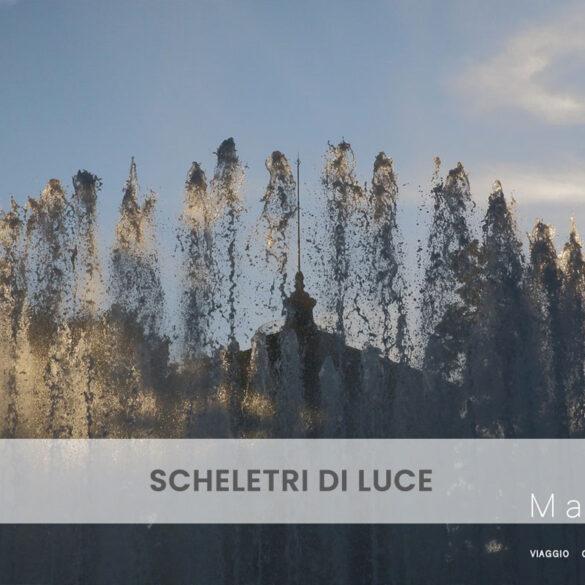 Scheletri di luce PhotoCredit Emanuela Gizzi Mapping Lucia