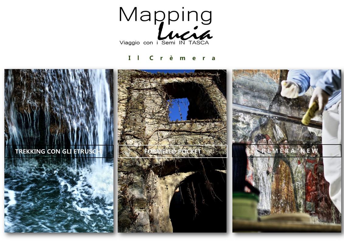 La pagina Il Crèmera PhotoCredit Emanuela Gizzi Mapping Lucia