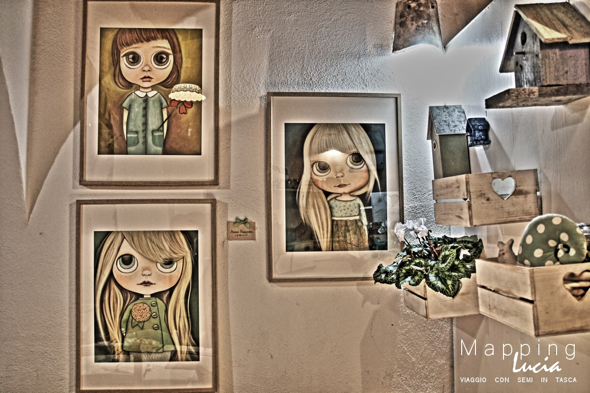 Muro degli artisti Locanda PhotoCredit Emanuela Gizzi Mapping Lucia