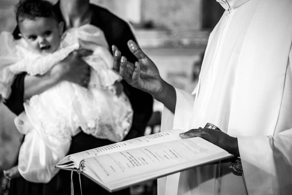 Primo battesimo nella Chiesa di San Michele Arcangelo