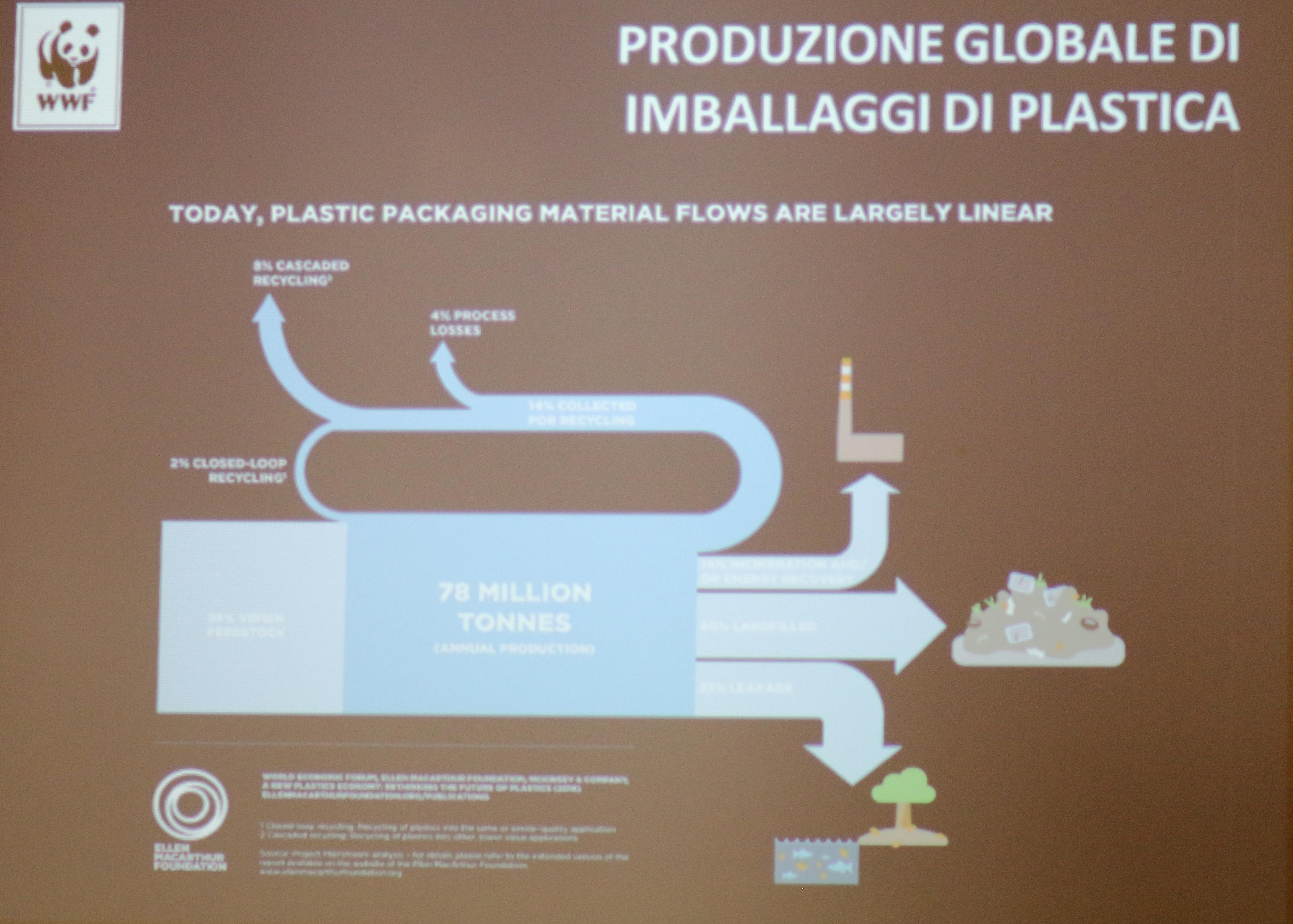 WWF Ciclo della plastica riciclata Pht Emanuela Gizzi Mapping Lucia