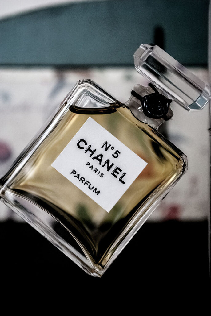 Chanel N°5 Licensed by Creative Commons Attribution 2.0 Generic license