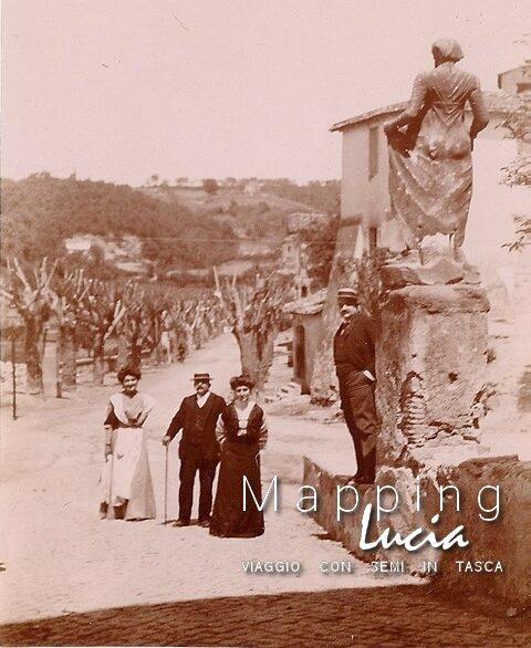 Il Maripara in piazza donato palmieri a Formello Pht Emanuela Gizzi Mapping Lucia