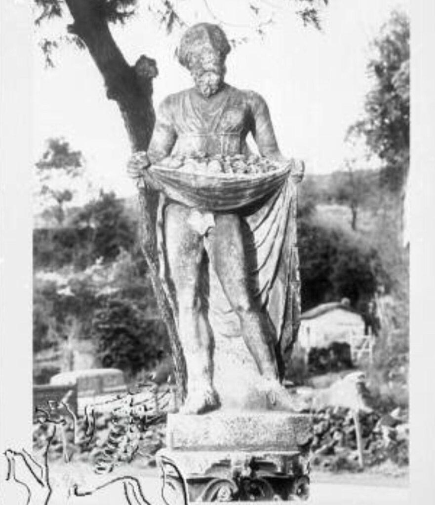 Il Maripara presso il Giardino Comunale di Formello Fonte Francesco Braghetta