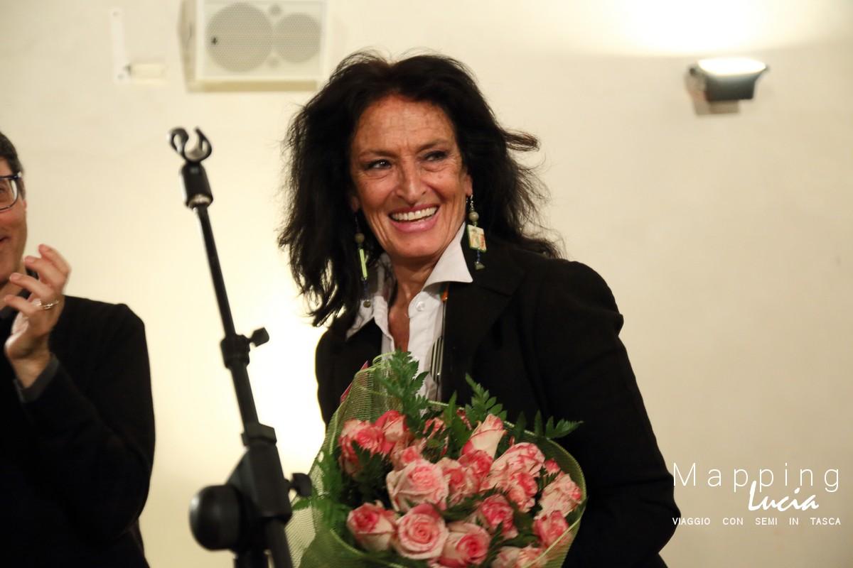 Sonia Martelloni nella Favola al Cioccolato Pht Emanuela Gizzi Mapping Lucia