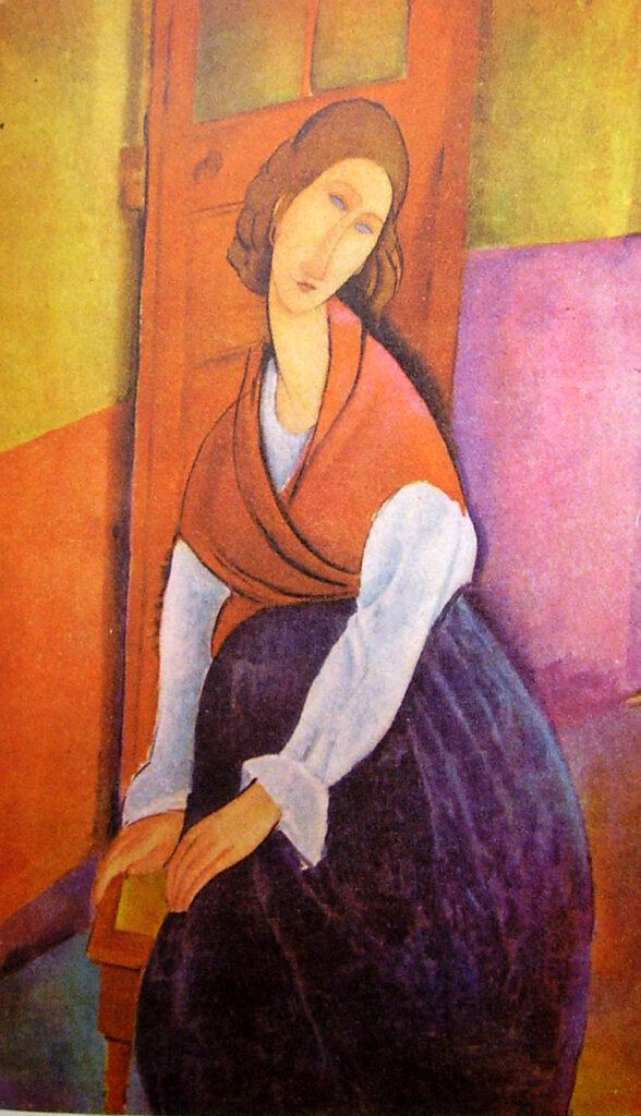 Jeanne sull'uscio - Fonte Wikimedia Commons Free domain