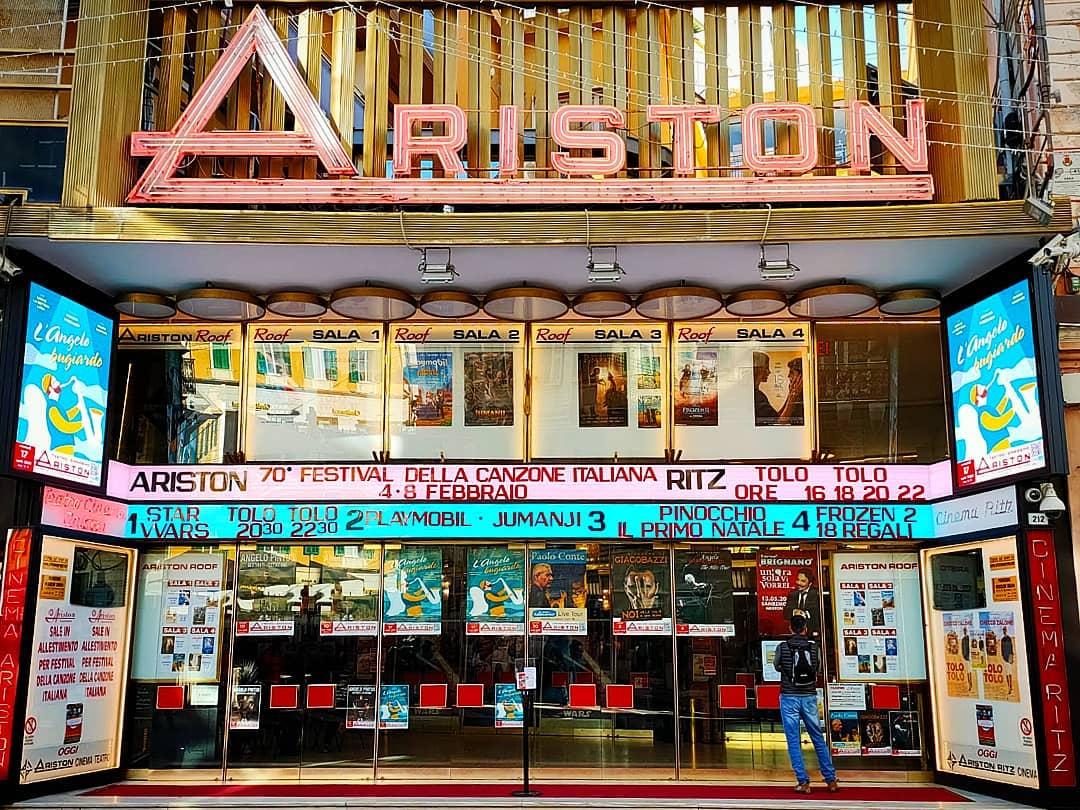 Ariston Festival di Sanremo Fonte facebook.comcittadisanremophotos