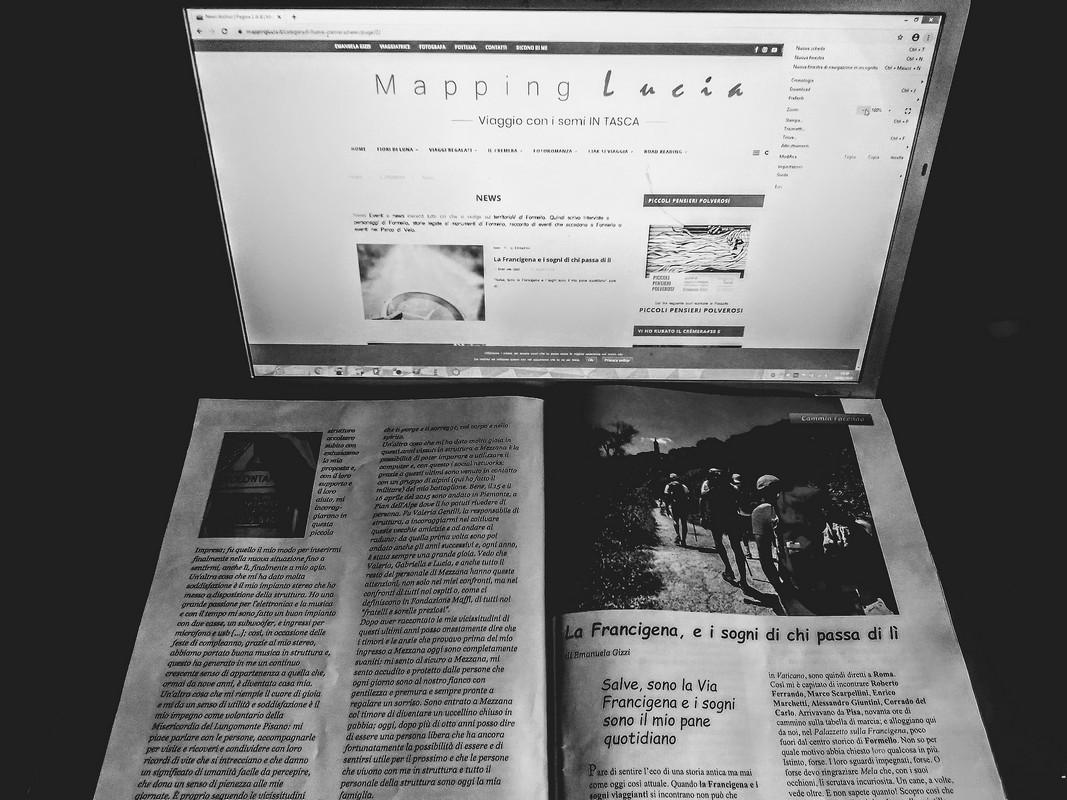 Articolo Fondazione Maffi Pht Emanuela Gizzi Mapping Lucia