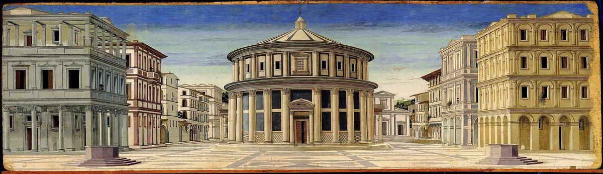 Città ideale di Urbino Piero della Francesca Fonte wikipedia.org
