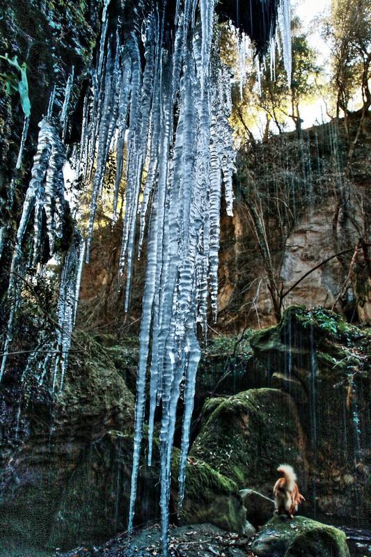 Sorgente con le stalattiti Pht emanuela gizzi Mapping Lucia