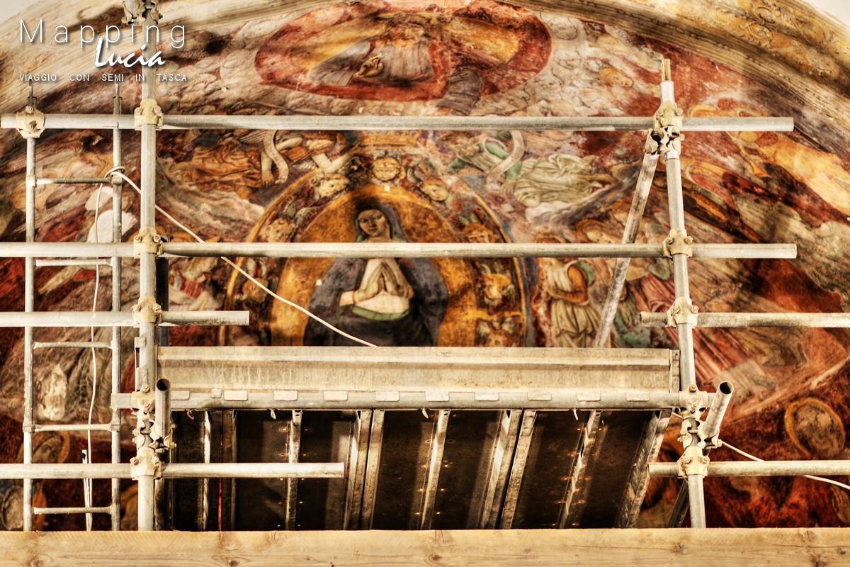 Echi di Bisanzio Santuario Madonna del Sorbo pht Emanuela Gizzi Mapping Lucia